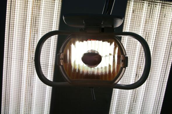 Tandarts lamp