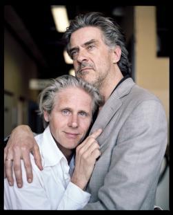 Geert Lageveen en Leopold Witte