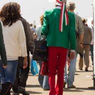Italia a Zandvoort publiek