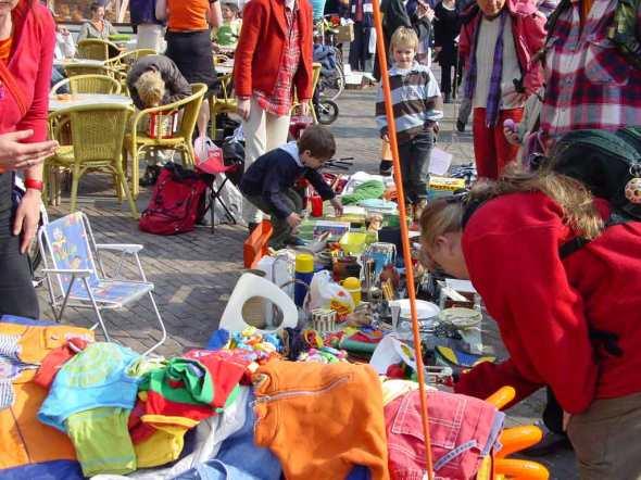 Vrijmarkt Koningsdag